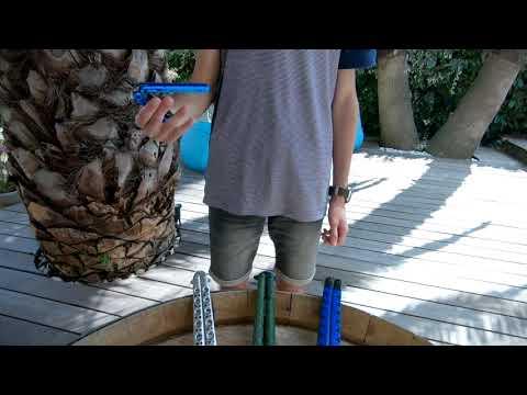 DEBALLAGE COUTEAU PAPILLON Albainox balisong bleu  via @YouTube