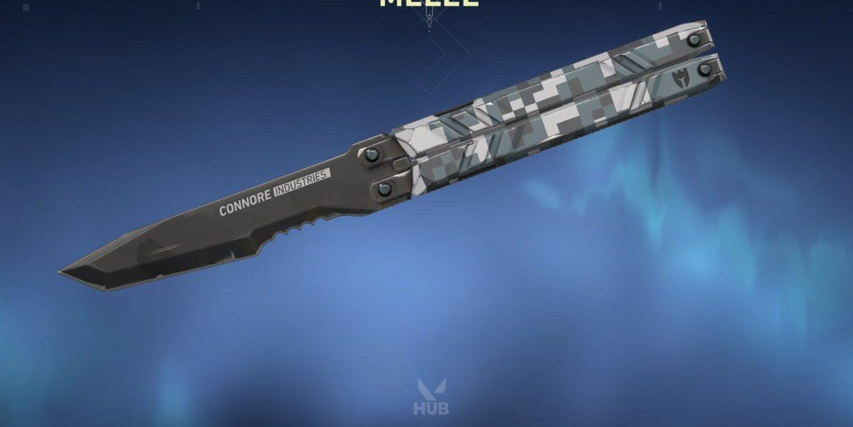 Le couteau papillon s'appelle Balisong Melee et a 4 camos.