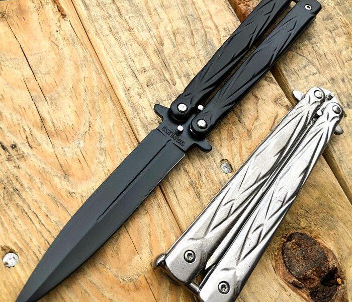 Battle Balisong Butterfly Knife :