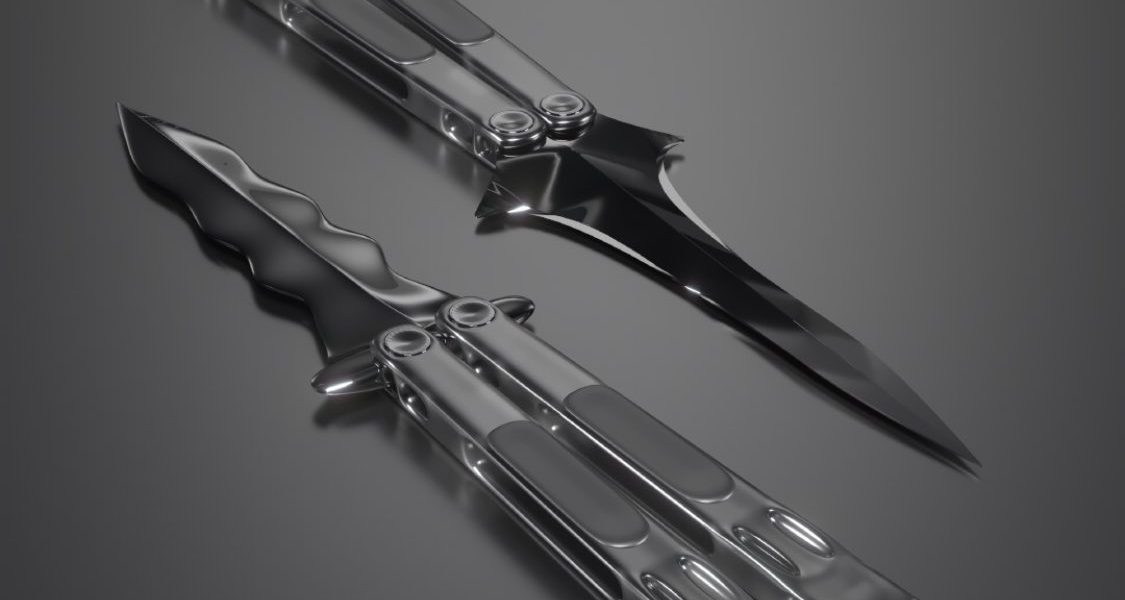 BALISONG Butterfly Knife 03 | STAINLESS STEEL EDITION   #balisong #butterflyknif